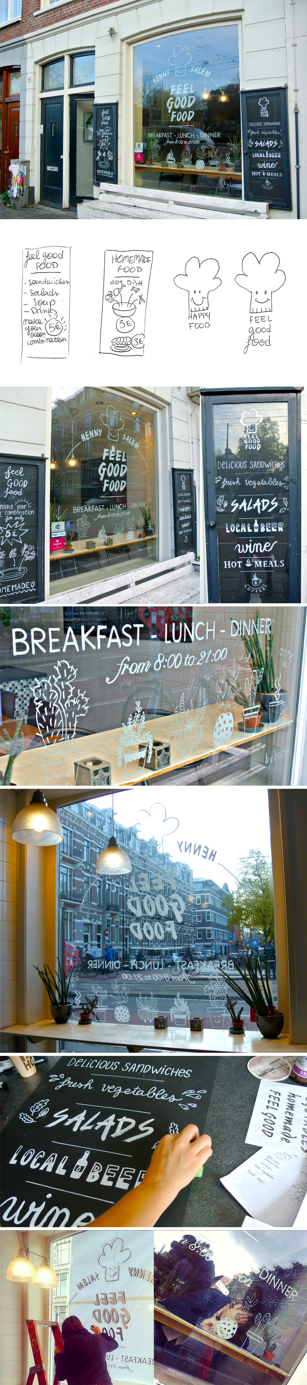 Typographic Window Display